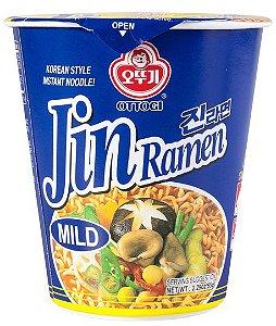 Macarrão Coreano Jin Ramen Cup - (Mild) 65g