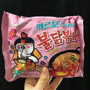 Macarrão Coreano Hot Chicken Buldak Carbonara (Muito Picante) - 105g