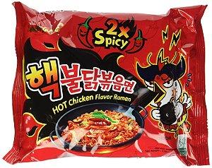 Macarrão Coreano Hot Chicken Buldak 2x (Picância Extrema) - 140g