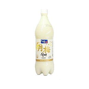 Walmae Makgeolli Vinho Coreano de Arroz (Korean Rice Wine) 1L