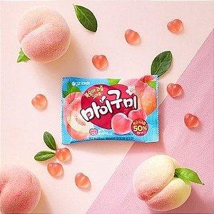 Balas de Gelatina My Gummy - Pêssego 66g