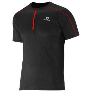 CAMISETA SALOMON ACTION 1/2 ZIP M PT
