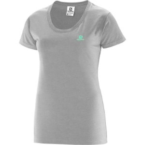 CAMISETA SALOMON COTTON SS F CZ MESCLA