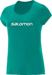 CAMISETA SALOMON TRAINNING IV F VD TEAL