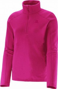JAQUETA SALOMON POLAR 1/2 ZIP F PINK