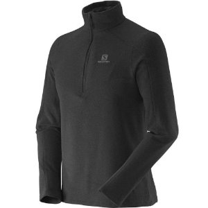 JAQUETA SALOMON POLAR 1/2 ZIP M PT