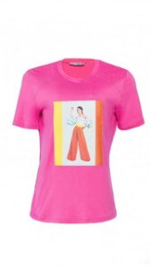 T-Shirt Menina Colorida