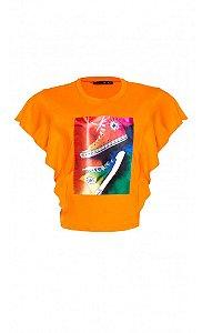 T-Shirt Tênis Colorido