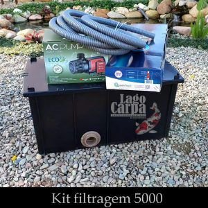 Filtra até 5.000 - Lago Carpa