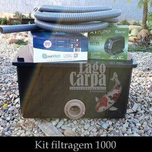 Filtra até 1.000 -  Lago Carpa