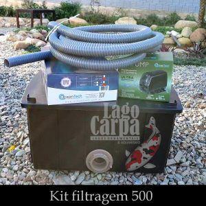Filtra até 500 litros -  Lago Carpa