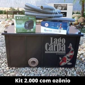 Filtra até 2.000 com Ozônio Lago Carpa