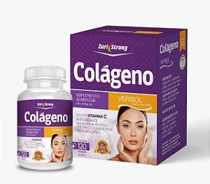 O Colágeno da Beleza - Colágeno VERISOL - 500 Mg - 120 Cápsulas - Zuri  Strong