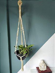 Suporte plantas M tingimento natural