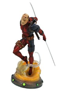 Estátua Deadpool Unmask - Marvel Gallery - Daimond Collectibles