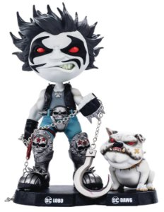 Estátua Lobo and Dawg - DC Comics - MiniCo - Iron Studios