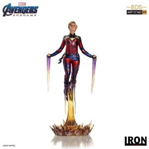Estátua Captain Marvel - Avengers: Endgame - Bds Art Scale 1/10