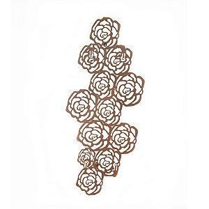 Escultura de Parede Rosas