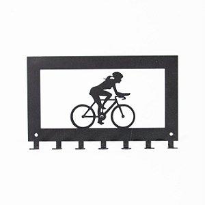 Porta Chave Ciclismo Feminino