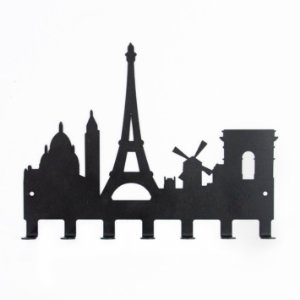 Cabideiro Paris 7 Ganchos