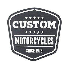 Escultura de Parede Motorcycles