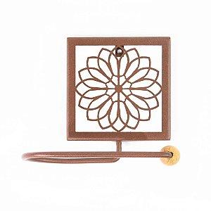 Porta Papel Higiênico Flor