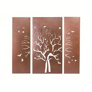 Quadro Trio Árvore Seca