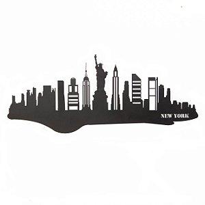 Escultura de Parede Skyline Nova York