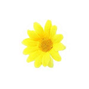50 Unidades Mini Margarida Artificial Amarela