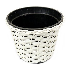 Vaso Redondo nº 4 Branco 16 cm x 19 cm