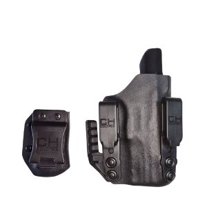 KIT COLDRE KYDEX IWB DOUBLE OVERHOOK - INTERNO - SIG SAUER P320 COMPACT CARRY