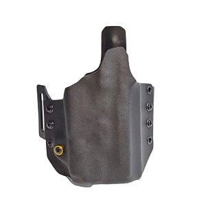 COLDRE KYDEX OWB 1R - EXTERNO – SIG SAUER M18 + LANTERNA (OLIGHT/SUREFIRE/STREAMLIGHT))