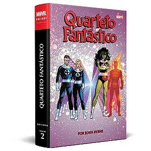Quarteto Fantástico por John Byrne Vol.02 Marvel Omnibus