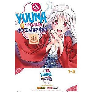 Box Yuuna e Pensão Assombrada Vol. 1 ao 5