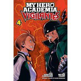 Vigilante My Hero Academia Illegals Vol. 4