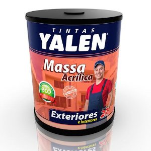 Massa Acrílica Yalen – 25kg