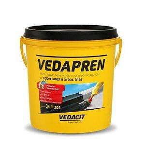 Vedapren (Manta Líquida) 3,6L – Preto