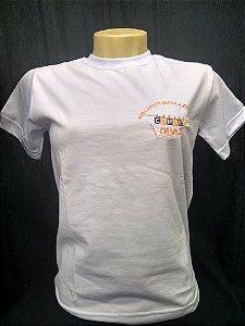 Camiseta manga curta branca Cordel da Vila
