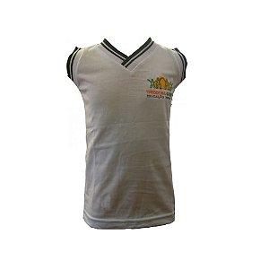 Camiseta regata branca Theodora Guerin