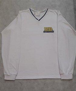 Camiseta Manga Longa branca, Colégio Papa Mike