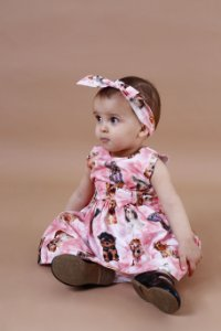 Vestido Taci Cachorro Baby