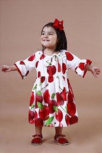 Vestido Taci Cereja Casual