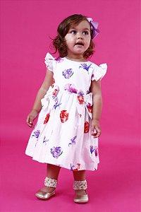 Vestido Taci Floral Colorido Baby