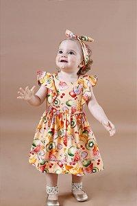 Vestido Taci Frutas Baby