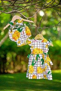 Vestido Taci Abacaxi Baby