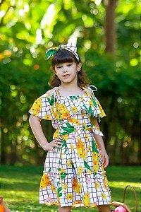 Vestido Taci Abacaxi Casual