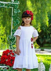 Vestido Taci Laise com Guipir