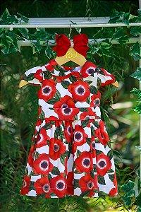 Vestido Taci Papoulas Baby