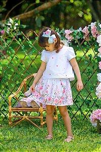 Conjunto Taci Floral de Rosas