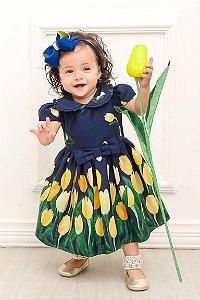 Vestido Taci Tulipas Baby